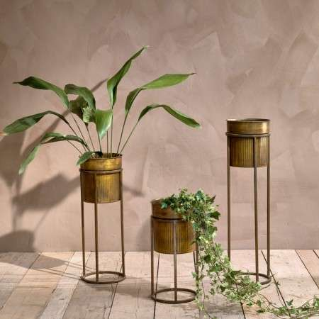 Kadassa Brass Planter Stand from Accessories for the Home