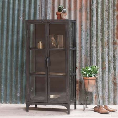 Tiko Small Iron Cabinet from Accessories for the Home