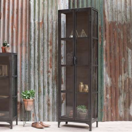 Tiko Tall Iron Cabinet from Accessories for the Home