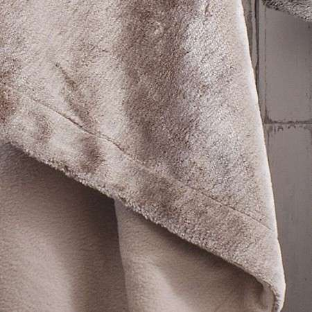 Luxury Faux Fur Chocolate Throw