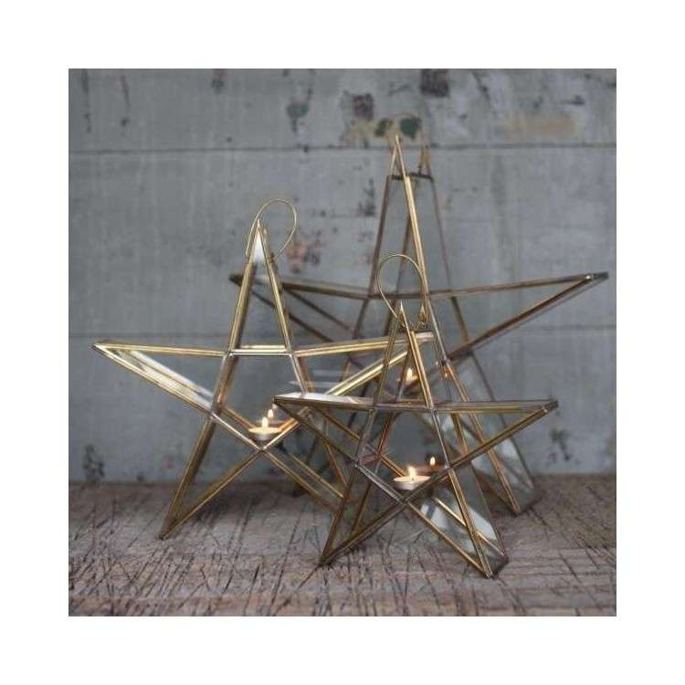 Sanwi Standing Star Brass
