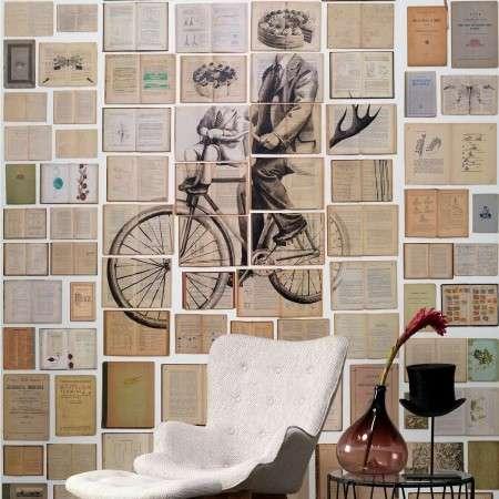 Biblioteca Wallpaper by Ekaterina Panikanova - EKA-03