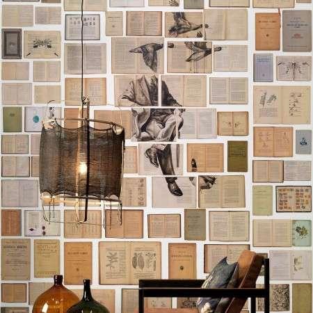 Biblioteca Wallpaper by Ekaterina Panikanova - EKA-01