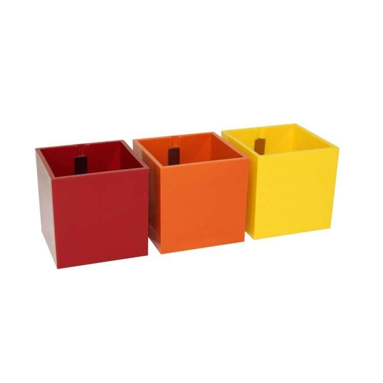 Kalamitica Pots - Set of 6 Red Tones
