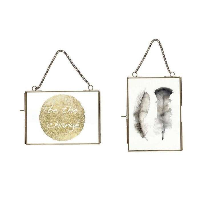 Photo Frames with Matching Chain - Set of 2