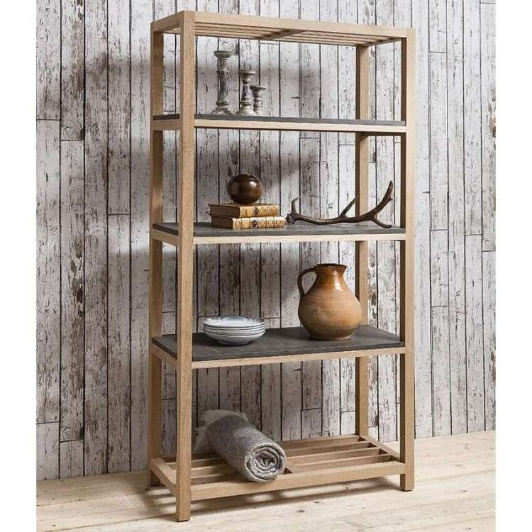Brooklyn Contemporary Tall Open Display Unit from Accessories for the Home