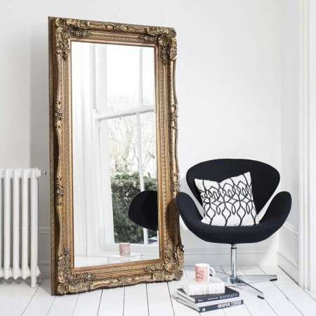Lasalle Leaner Mirror- Gold, Siver & Cream from Accessories for the Home