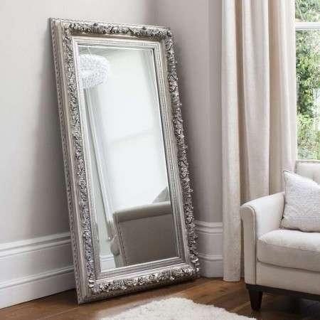 Adeline Silver Leaner Mirror