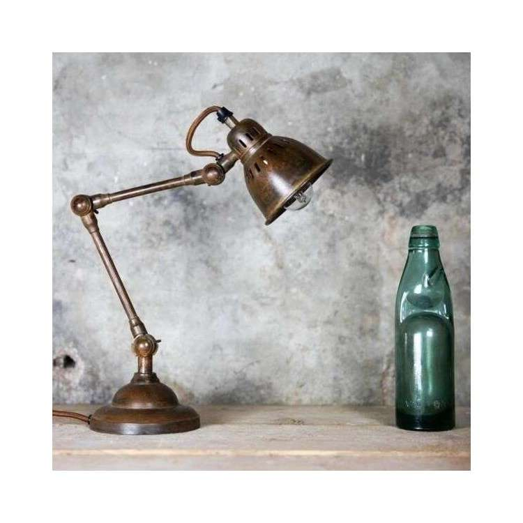 Superb Tubu Antique Brass Adjustable Desk Lamp Acc For The Home Download Free Architecture Designs Viewormadebymaigaardcom