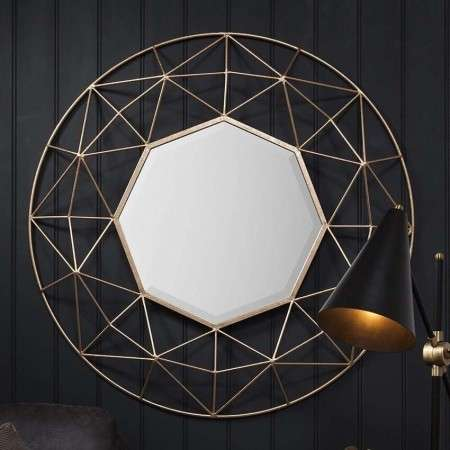 Adra Geometric Wall Mirror