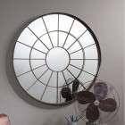 Bromley Industrial Style Circular Mirror