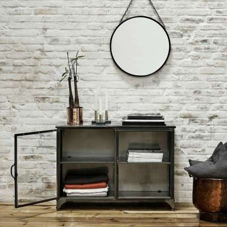 Nordal Downtown 2 Door Metal Sideboard from Accessories for the Home