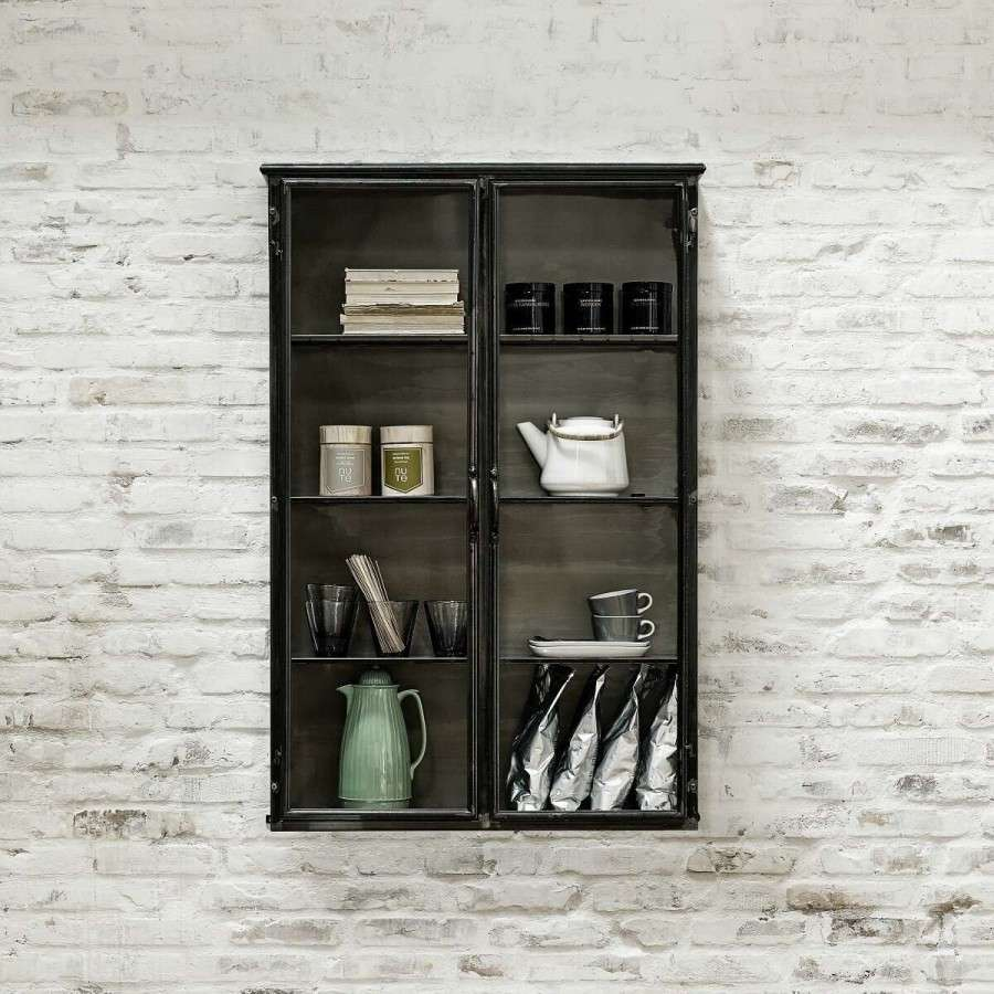 Tall Metropolitan Iron Wall Cabinet From Accessories For