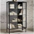 Nordal Oregon Iron and Glass Display Cabinet from Accessories for the Home