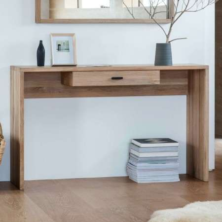Aurland Light Oak Console Table