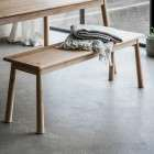 Laholm Solid Oak Dining Bench from Accessories for the Home