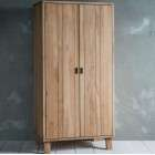 Aurland Oak Wardrobe from Accessories for the Home
