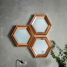 Fawkner Set of 3 Wall Mirrors from Accessories for the Home