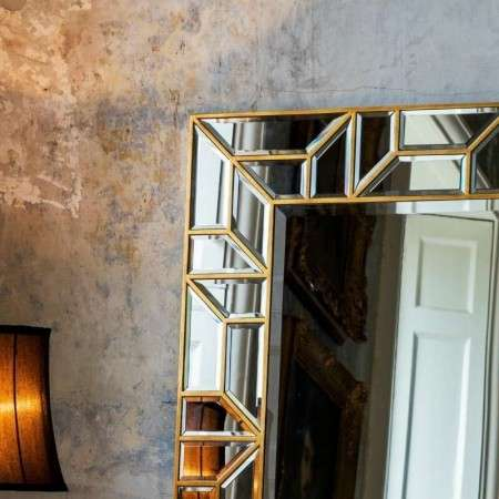 Vernon Leaner Floor Standing Mirror from Accessories for the Home