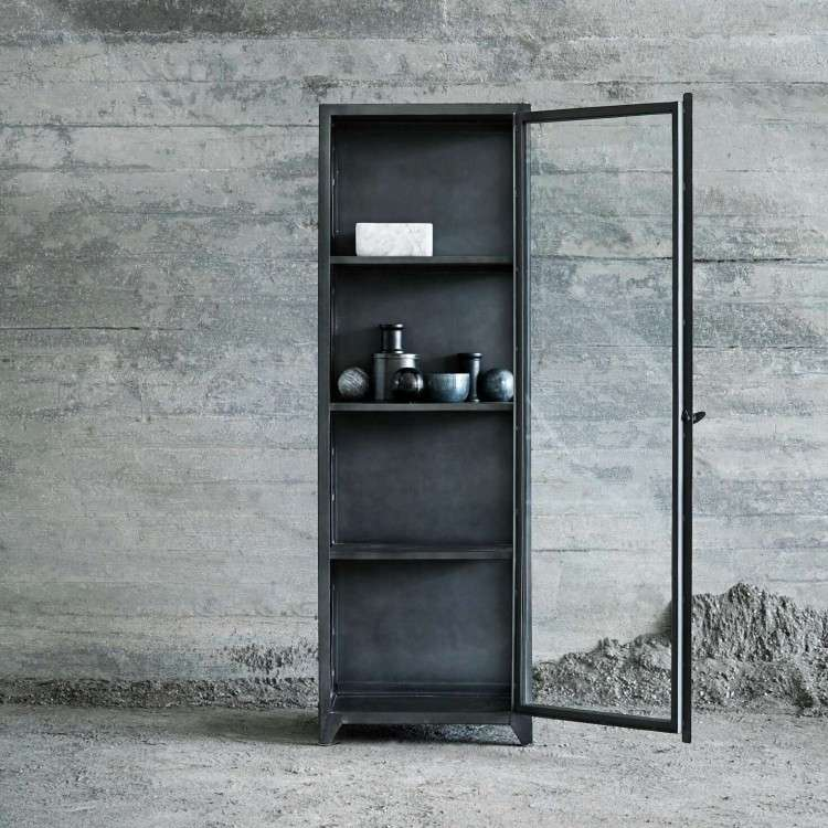 MUUBS Iron Glass Cabinet from Accessories for the Home