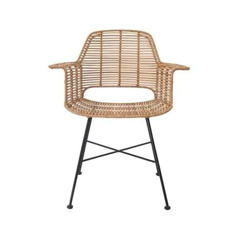 Rattan Tub Chair in Natural