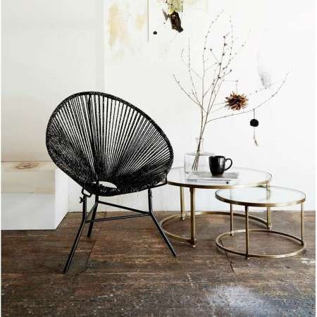 Brass Nesting Tables from Accessories for the Home
