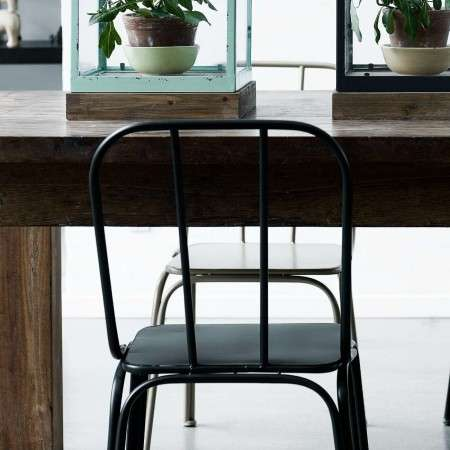Metropolitan Iron Chairs - Set of 2