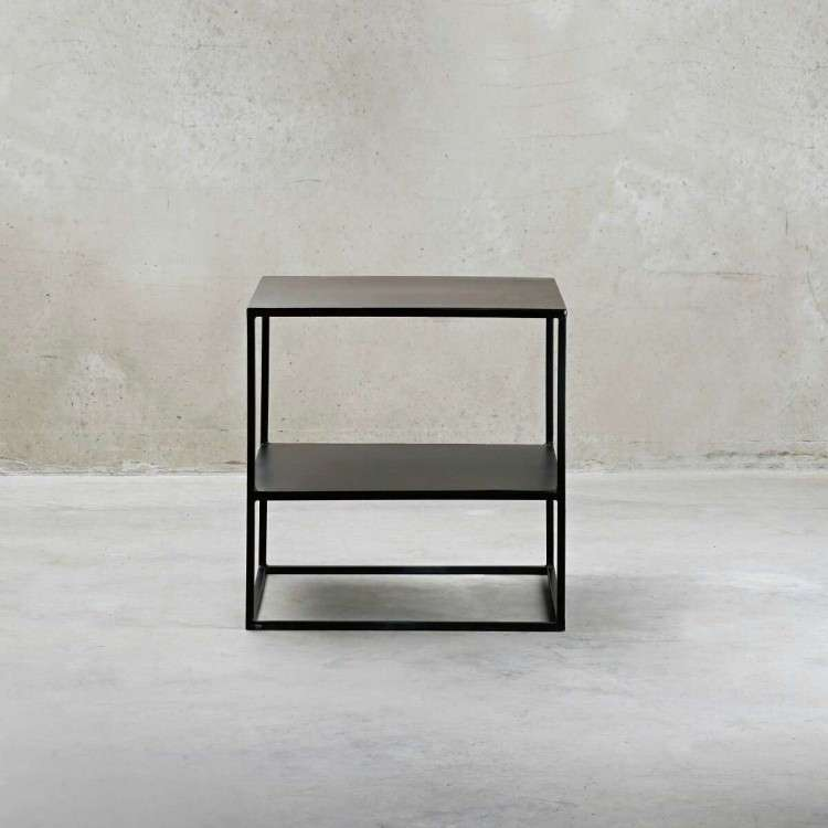Black Metal Side Table from Accessories for the Home