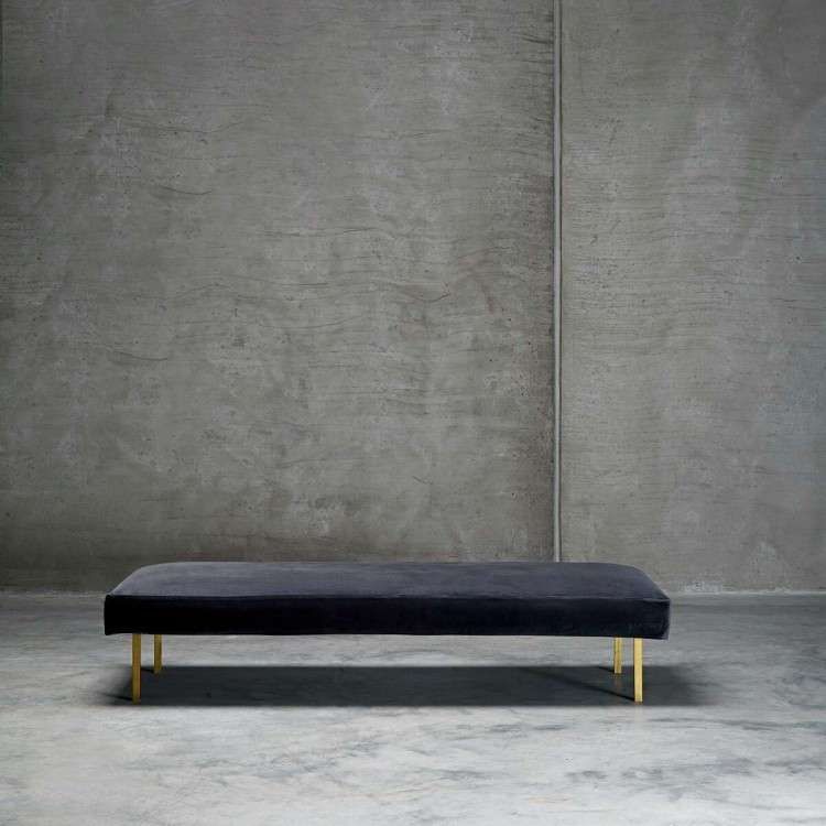 Tinekhome Phantom Velvet Daybed from Accessories for the Home