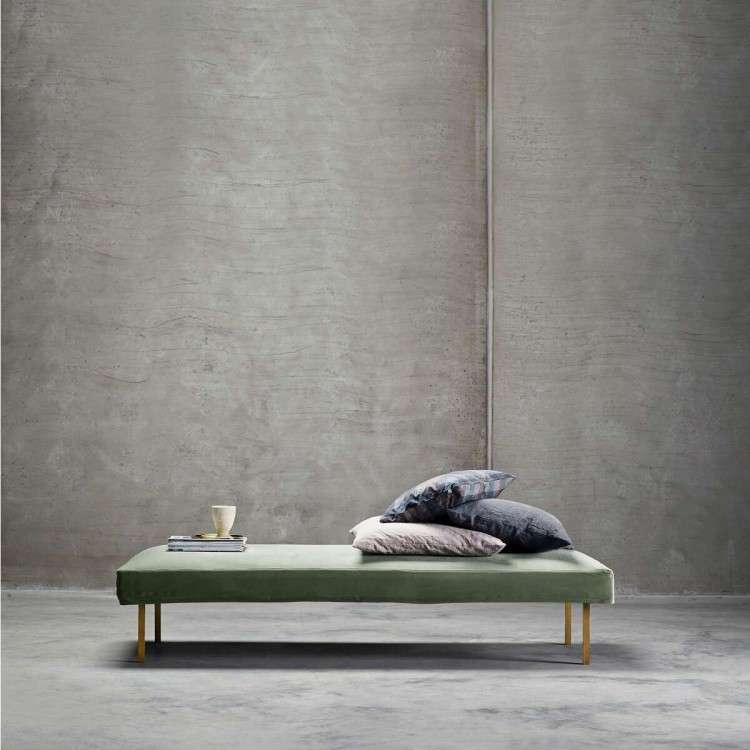 Velvet Daybed Moss from Accessories for the Home