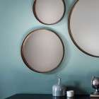 Reading Set of 3 Round Wall Mirrors from Accessories for the Home