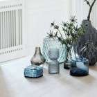 Blue Dresser Pots - Set of 2 from Accessories for the Home