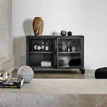 Muubs Iron and Glass Bar Cabinet 21 from Accessories for the home