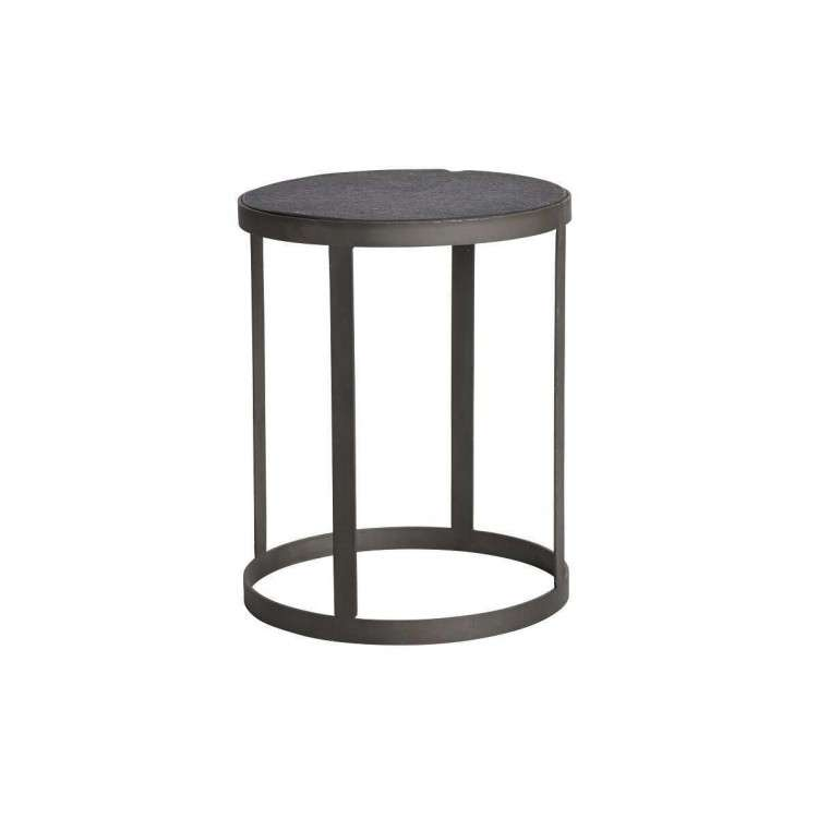 Muubs Black Stone and Iron Coffee Table from Accessories for the Home