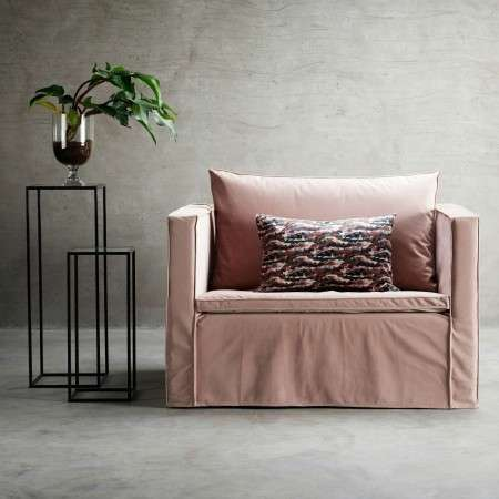 Tinekhome Rose Velvet Sofa Collection