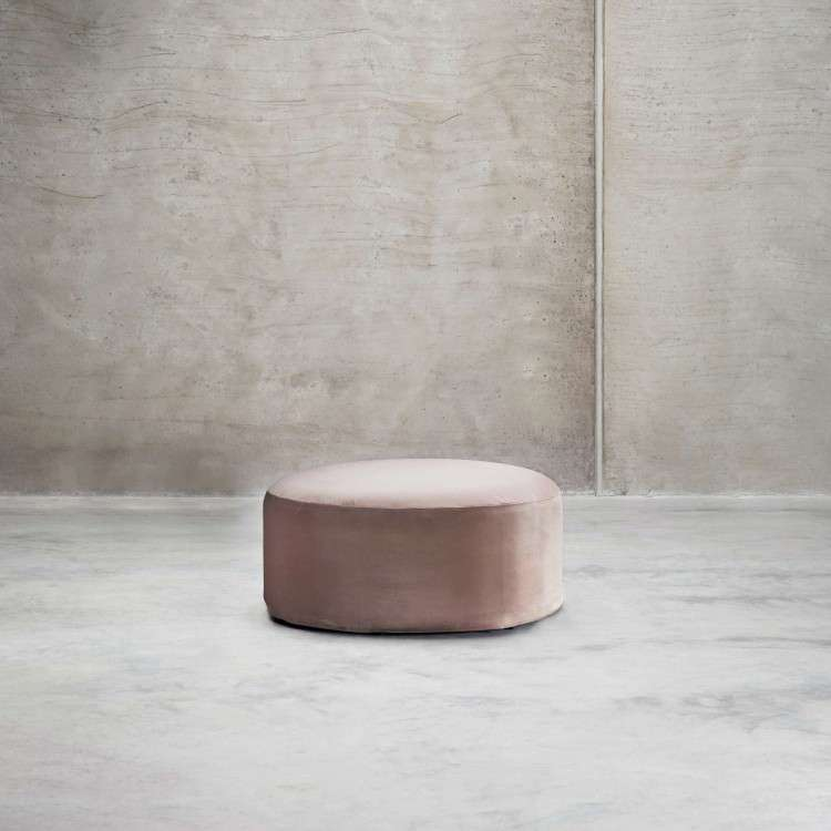 Tinekhome Rose Velvet Pouffe from Accessories for the Home