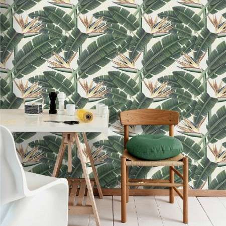 MIND THE GAP Tropical Bloom Wallpaper from Accessories for the Home