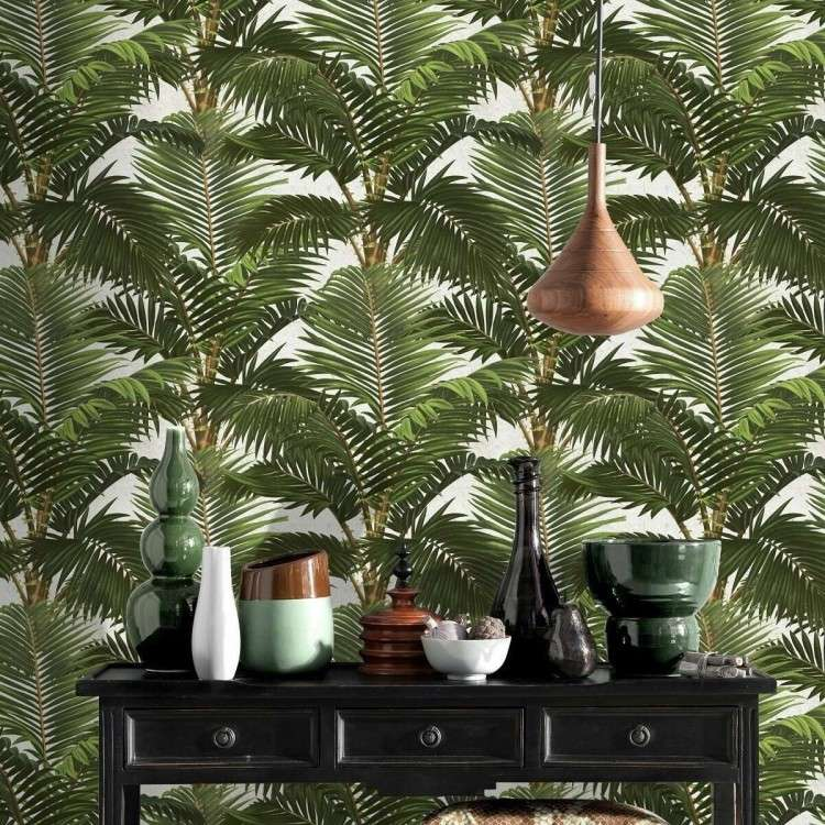 Jardin Tropical Wallpaper from Accessories for the Home