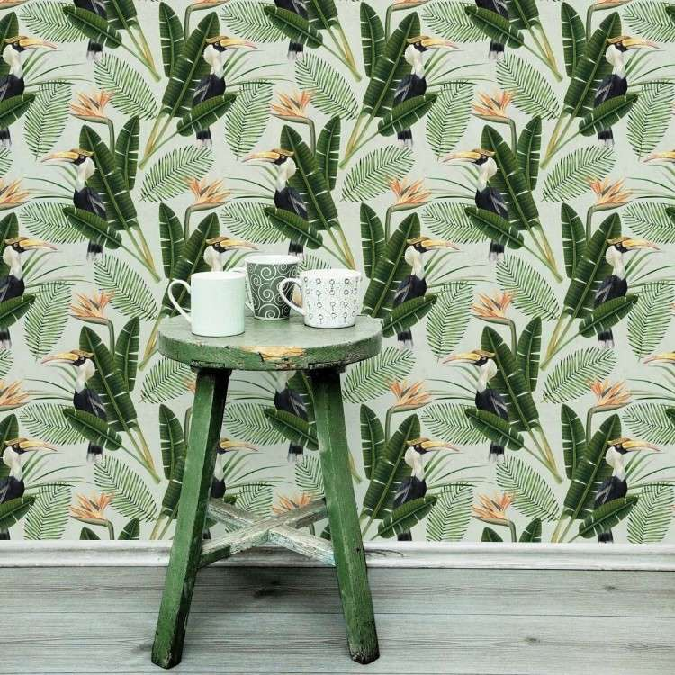 Birds of Paradise Wallpaper from Accessories for the Home