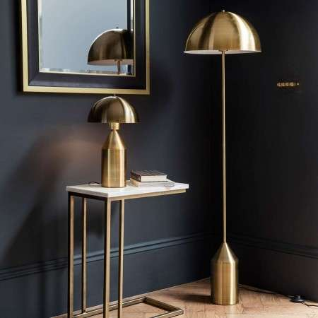 Aada Gold Floor Lamp