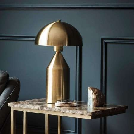 Aada Gold Table Lamp