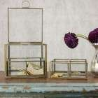 Bequai Brass Compartment Jewellery Box from Accessories for the Home