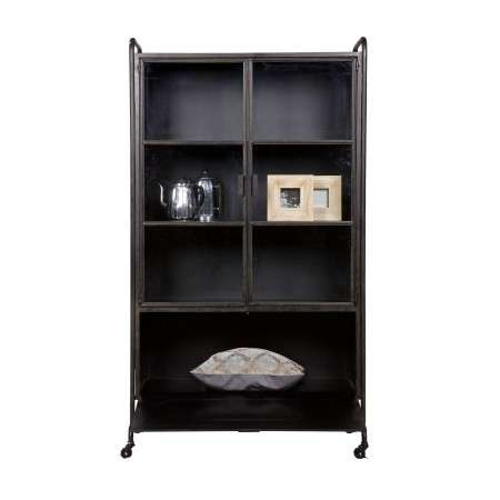 BePureHome Black Metal Storage Cabinet from Accessories for the Home