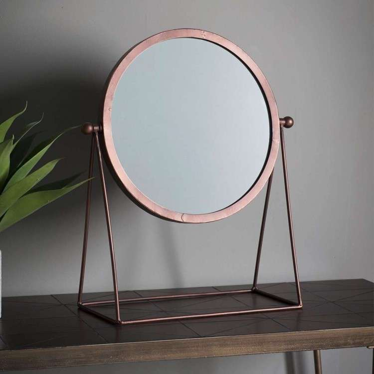 Webber Copper Dressing Table Mirror from Accessories for the Home