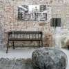 HKLiving Teak Bench (Black or Natural) from Accessories for the Home