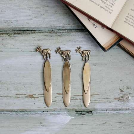 Brass Bookmarks from Accessories for the Home