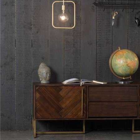 Dutchbone Class Dark Wood Sideboard