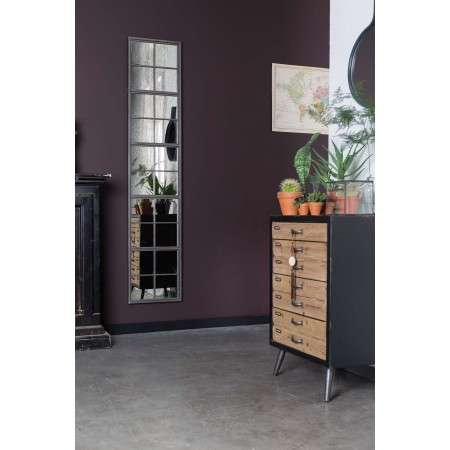 Sol Wood and Iron Cabinet Large from Accessories for the Home
