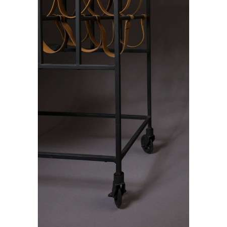Dutchbone Mil Marble Top Drinks Trolley from Accessories for the Home