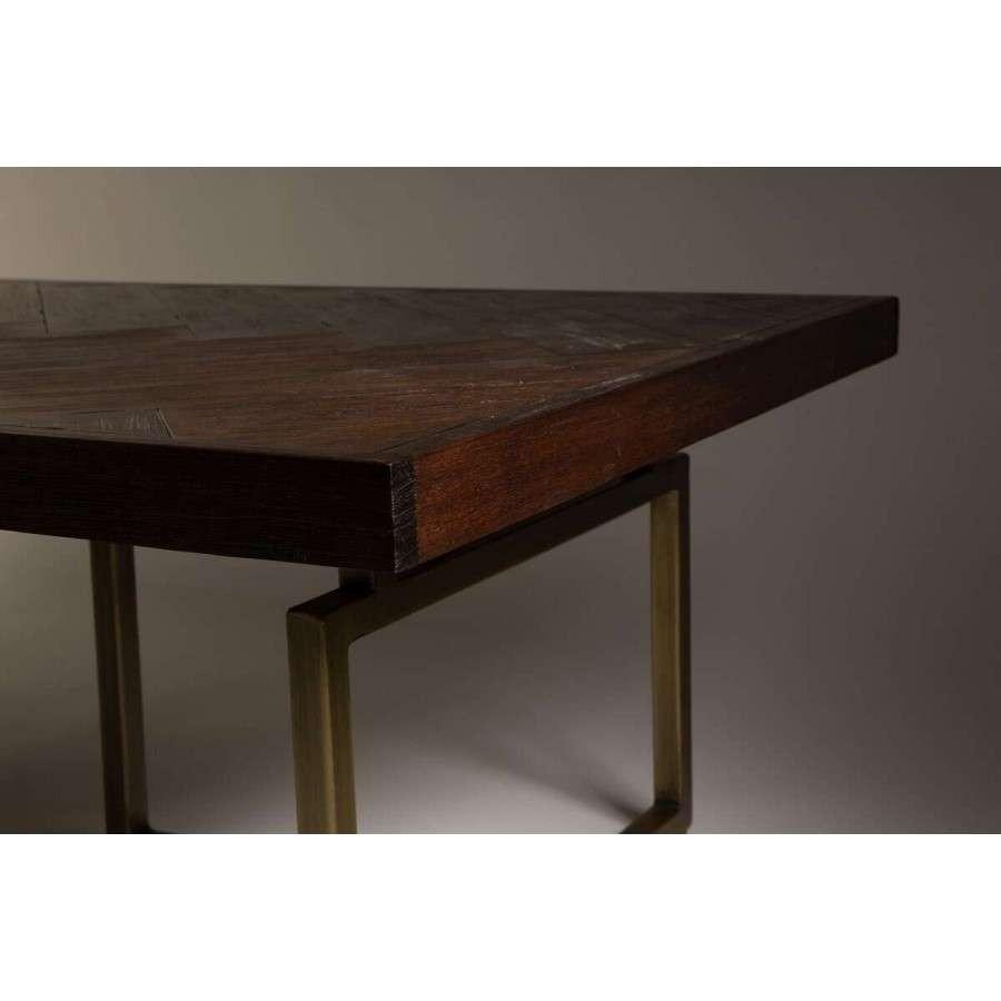 Dutchbone Class Herringbone Amp Brass Coffee Table Acc For